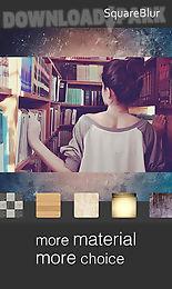 insta square blur snap pic