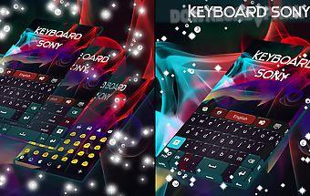 Keyboard for sony xperia z