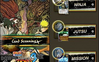 Naruto card scanner