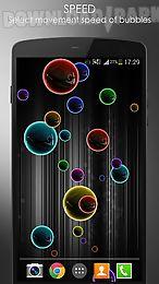 neon bubble live wallpaper
