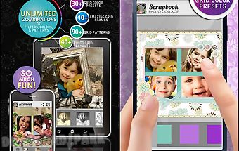 Scrapbook photo collage maker
