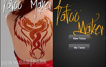 Tattoos maker - photo editor