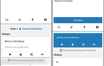 Translate.com app