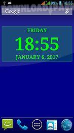 digital clock live wallpaper-7