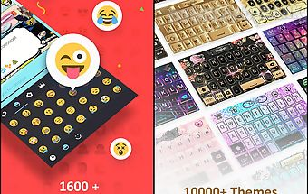Go keyboard - emoji, sticker