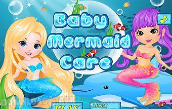 Baby care - mermaid games