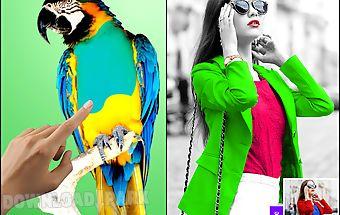 Colour changer photo editor