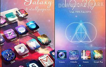 Galaxy go launcher theme