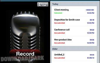 Speakwrite recorder