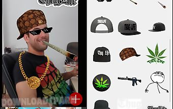 Thug your life: photo stickers