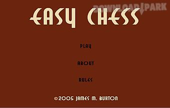 Easy-chess