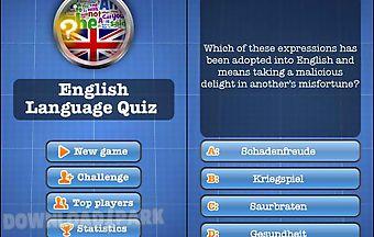 English language quiz free