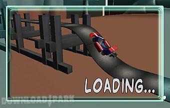 Platform climbing car drive