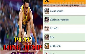 Play long jump games