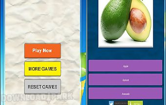 The best quiz game of fruit