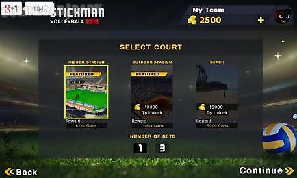 stickman volleyball 2016