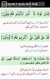 surah yaseen with mp3