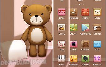 Teddy go launcherex theme