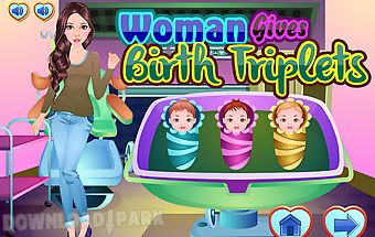 Woman gives birth triplets