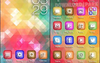 Brilliant color go theme