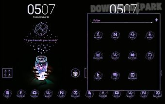 Dream it dodol launcher theme