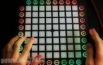 Electro drum pad extended