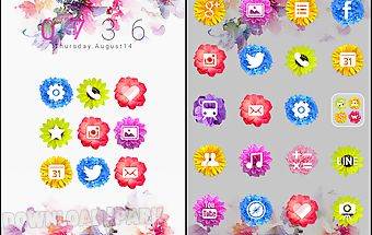Flower holic dodol theme