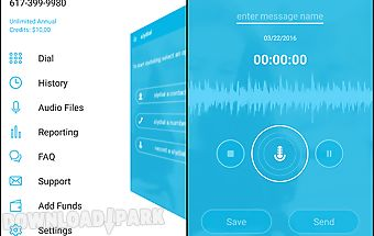 Slydial - voice messaging