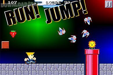 Super mega runners 8-bit jump Android Jogo Baixar grátis em Apk