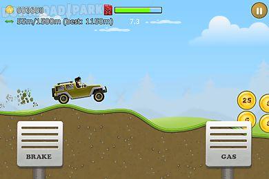 up hill racing: car climb