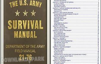Army survival manual