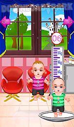 birth twins girls games
