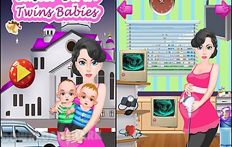 Birth twins girls games