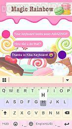 magic rainbow keyboard theme