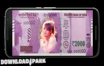 Modi money photo frames