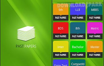 Past papers - ilmkidunya.com