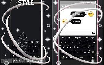 Black style keyboard