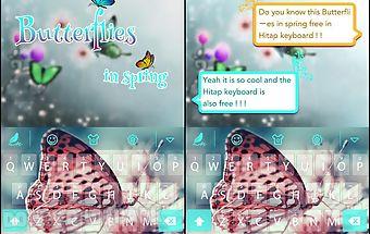 Butterflies for hitap keyboard
