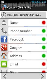 contacts cleaner merge & clean