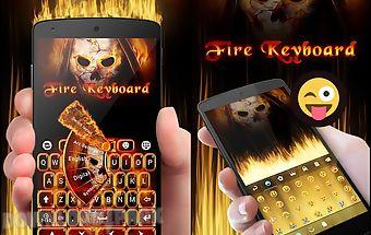 Fire soul go keyboard theme