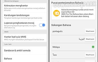 Go sms pro malay package