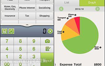 Quick money recorder-budget