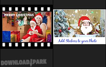 Xmas photo collage