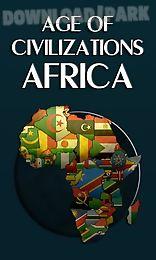 age of civilizations: africa