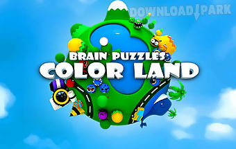 Brain puzzle: color land