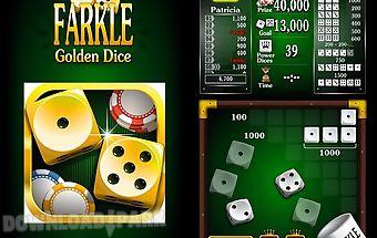 Farkle: golden dice game