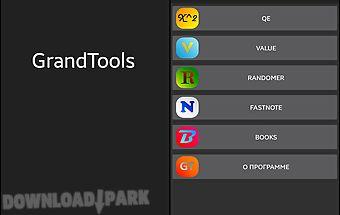 Grand tools