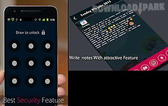 Amazing secret diary with lock