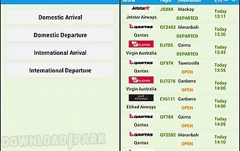 Australia airport time