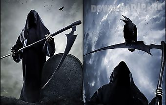 Grim reaper live wallpaper